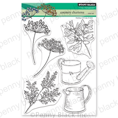 Penny Black Clear Stamps COUNTRY CHARISMA 30-690 Preview Image