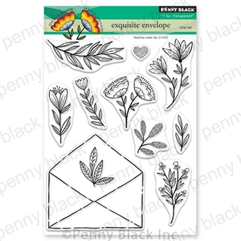 Penny Black Clear Stamps EXQUISITE ENVELOPE 30-702*