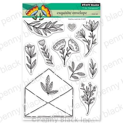 Penny Black Clear Stamps EXQUISITE ENVELOPE 30-702* zoom image