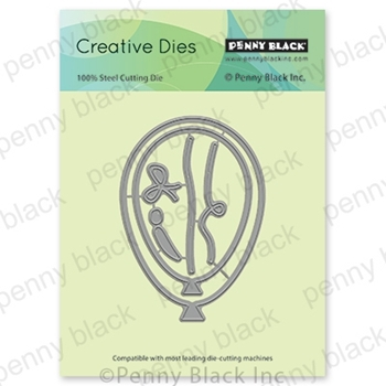 Penny Black BALLOONS Thin Metal Creative Dies 51-609