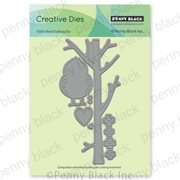 Penny Black BIRD AND BRANCH Thin Metal Creative Dies 51-596