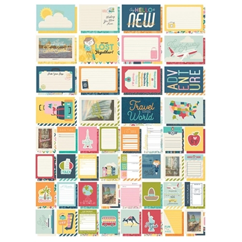 Simple Stories GOING PLACES Snap Cards 12320