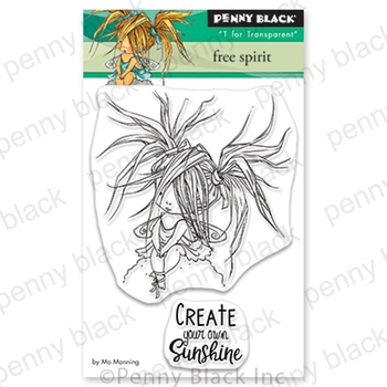 Penny Black Clear Stamps FREE SPIRIT 30-692