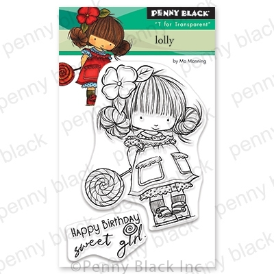 Penny Black Clear Stamps LOLLY 30-688 zoom image