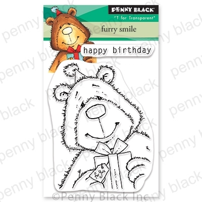 Penny Black Clear Stamps FURRY SMILE 30-678 zoom image