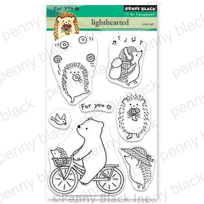 Penny Black Clear Stamps LIGHTHEARTED 30-674 zoom image