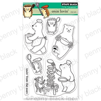 Penny Black Clear Stamps OVEN LOVIN 30-670