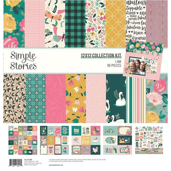 Simple Stories I AM 12 x 12 Collection Kit 12400