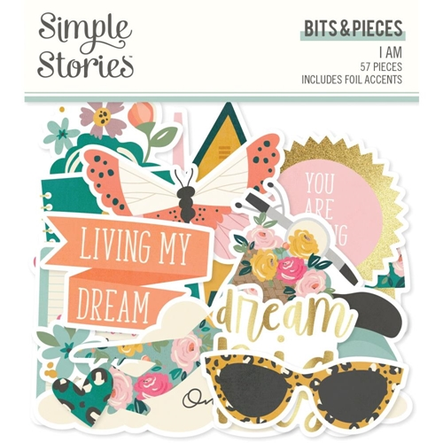 Simple Stories I AM Bits And Pieces 12416 Preview Image