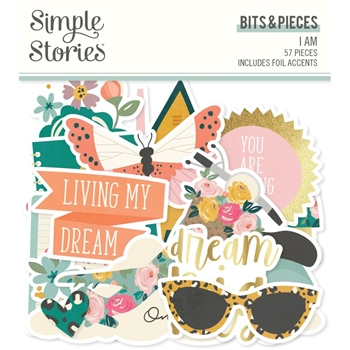 Simple Stories I AM Bits And Pieces 12416