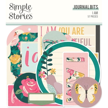 Simple Stories I AM Journal Bits And Pieces 12417