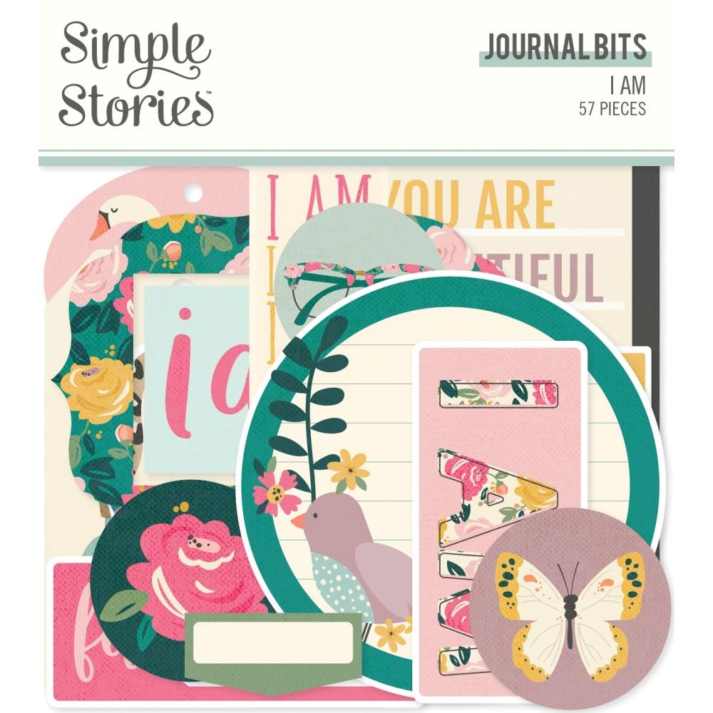 Simple Stories I AM Journal Bits And Pieces 12417 zoom image