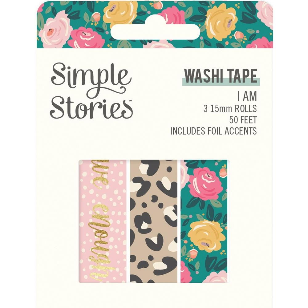 Simple Stories I AM Washi Tape 12419 zoom image
