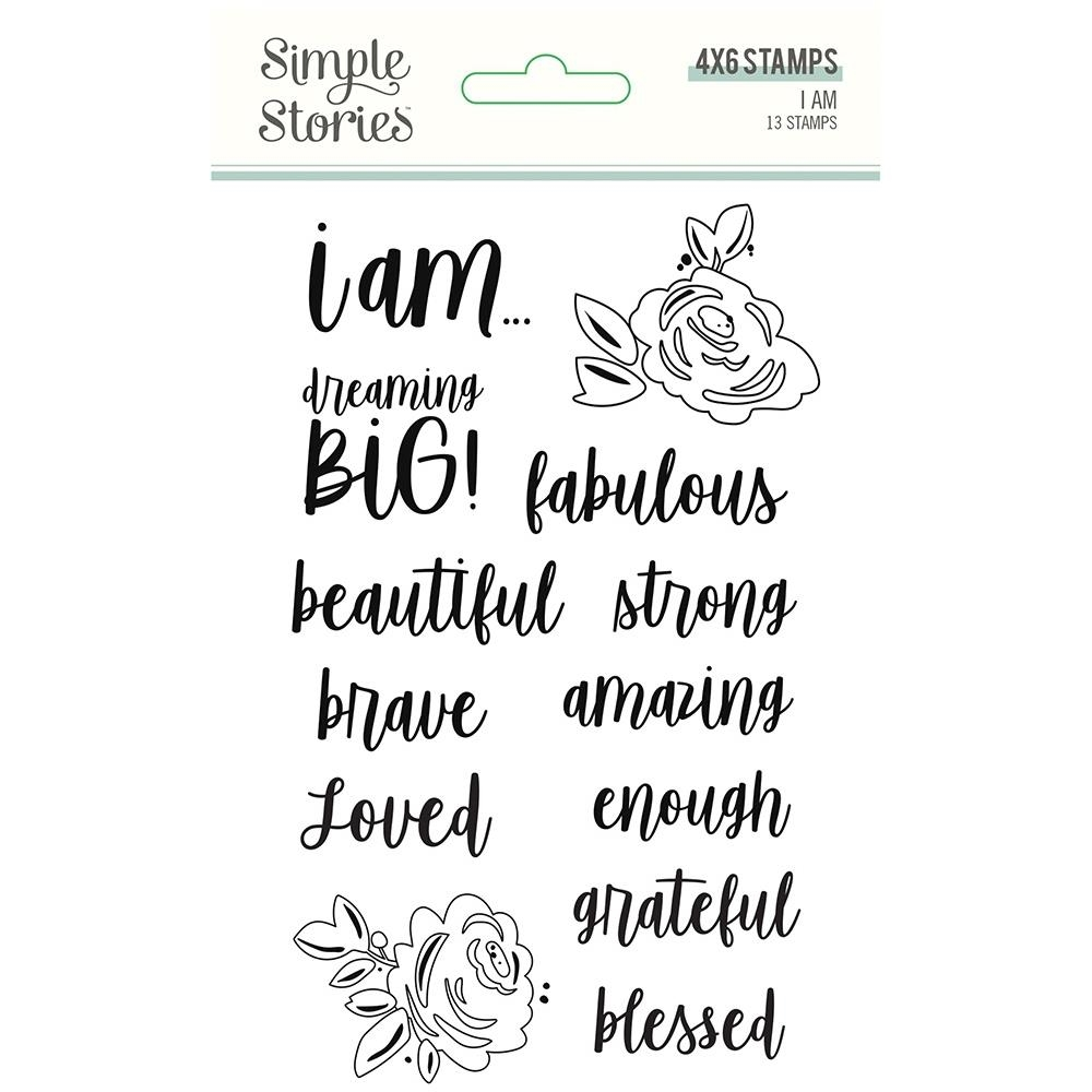 Simple Stories I AM Clear Stamp Set 12423 zoom image