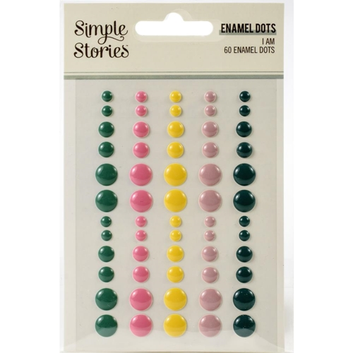 Simple Stories I AM Enamel Dots 12424 Preview Image