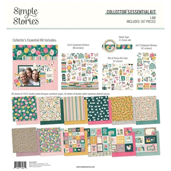 Simple Stories I AM 12 x 12 Collector's Essential Kit 12427