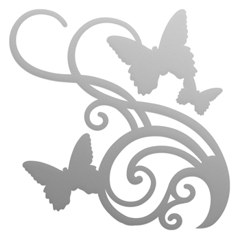 Couture Creations BUTTERFLY FLOURISH Mini Die co727609