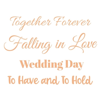 Couture Creations WEDDING DAY Mini Clear Stamps co727628