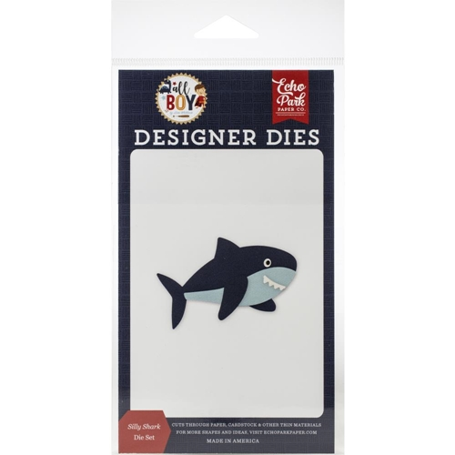 Echo Park SILLY SHARK Die Set alb207040 Preview Image