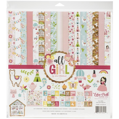 Echo Park ALL GIRL BOY 12 x 12 Collection Kit alg206016 Preview Image