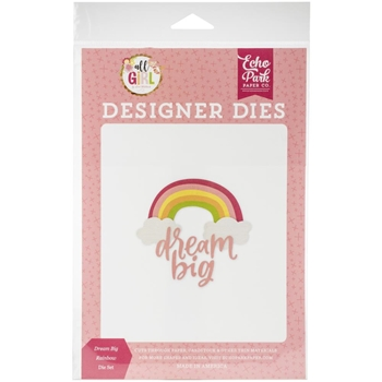 Echo Park DREAM BIG RAINBOW Die Set alg206040