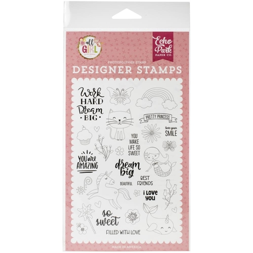 Echo Park DREAM BIG Clear Stamps alg206044 Preview Image