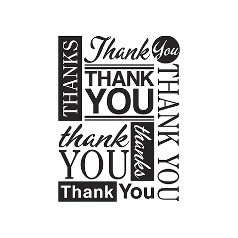Darice THANK YOU Embossing Folder 30041288 Preview Image