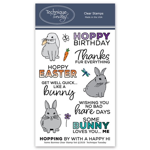 Technique Tuesday SOME BUNNIES Clear Stamps 2829 Preview Image