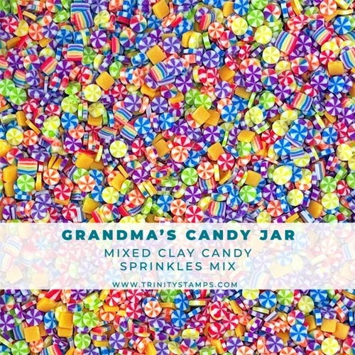 Trinity Stamps GRANDMA'S CANDY JAR Embellishment Box 982359 Preview Image