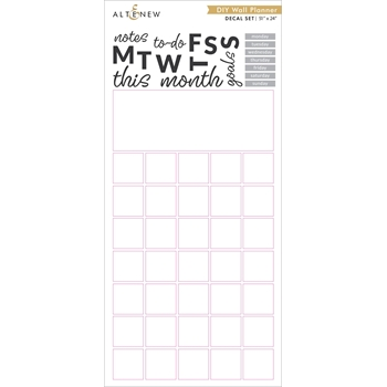Altenew DIY WALL PLANNER Decal Set ALT4001