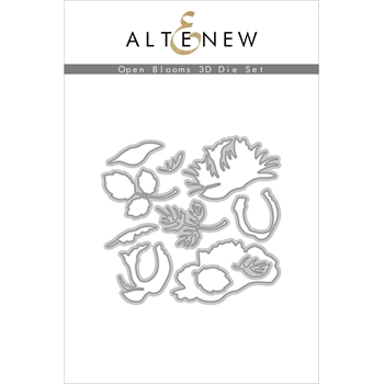 Altenew OPEN BLOOMS 3D Dies ALT3913