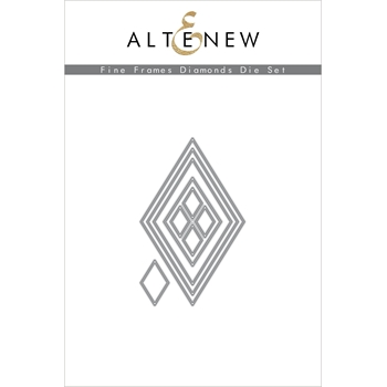 Altenew FINE FRAMES DIAMONDS DIES ALT3910