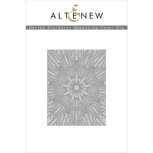 Altenew DOTTED STARBURST DEBOSSING COVER Die ALT3908 Preview Image