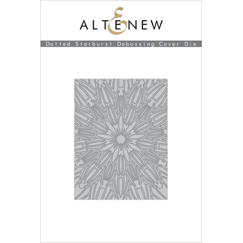 Altenew DOTTED STARBURST DEBOSSING COVER Die ALT3908