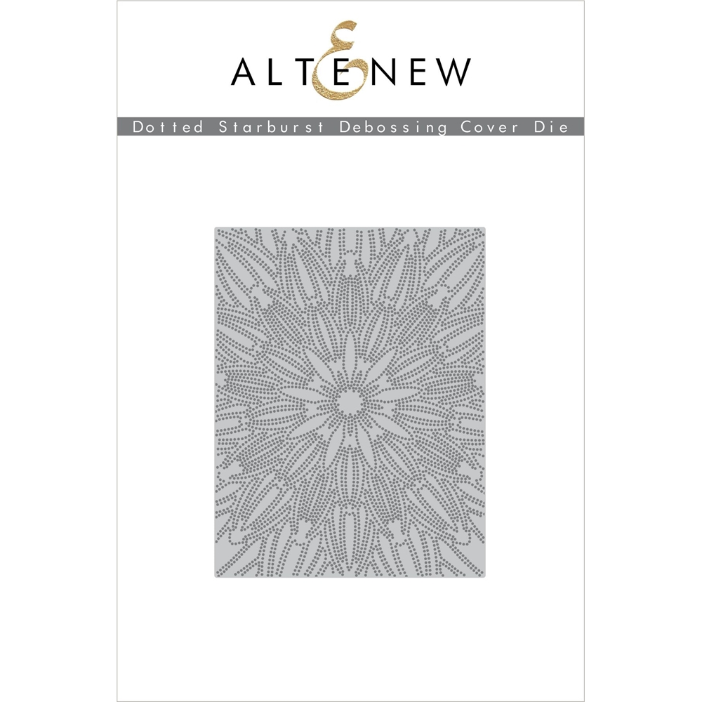 Altenew DOTTED STARBURST DEBOSSING COVER Die ALT3908 zoom image