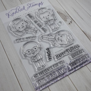 Kindred Stamps NY COMEDY Clear Stamps 04379452