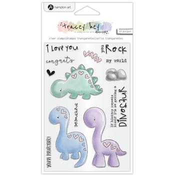 Hampton Art YOU ROCK Clear Stamps sc0980