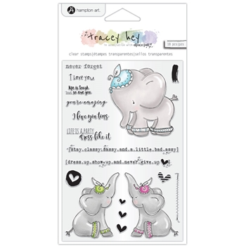 Hampton Art NEVER FORGET Clear Stamps sc0978