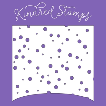 Kindred Stamps SNOWFALL Stencil 18934332