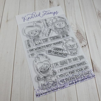 Kindred Stamps STAY STRONG Clear Stamps 32526396
