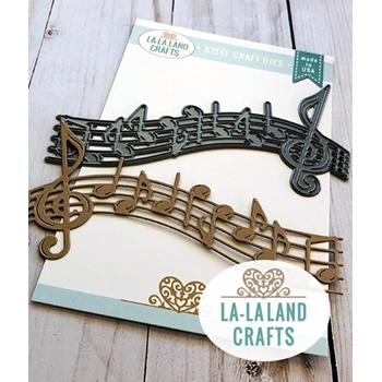 La-La Land Crafts MUSIC NOTES BORDER Die 8500