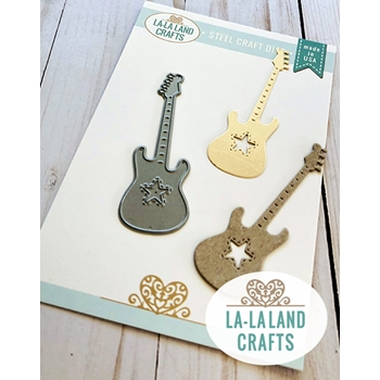 La-La Land Crafts GUITAR Die 8502