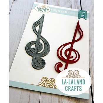 La-La Land Crafts TREBLE CLEF Dies 8501