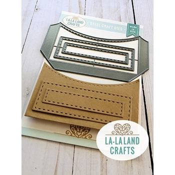 La-La Land Crafts HORIZONTAL POCKET Dies 8491