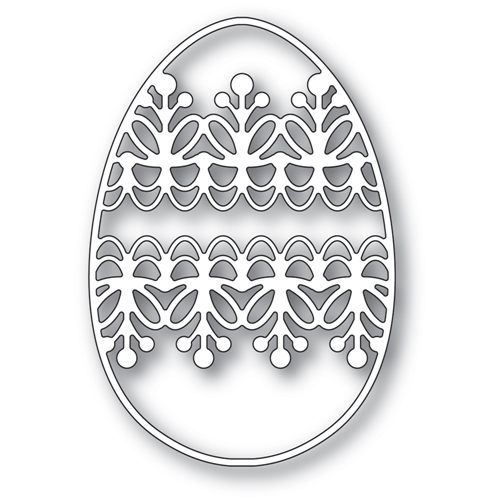 Memory Box LACEWORK EGG Craft Die 94428 Preview Image