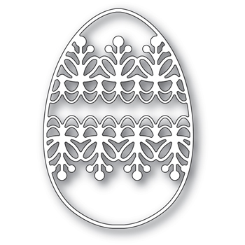 Memory Box LACEWORK EGG Craft Die 94428