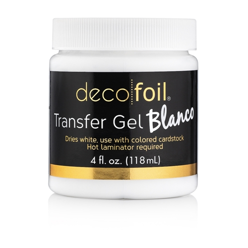 Therm O Web Deco Foil BLANCO Transfer Gel 5563 Preview Image