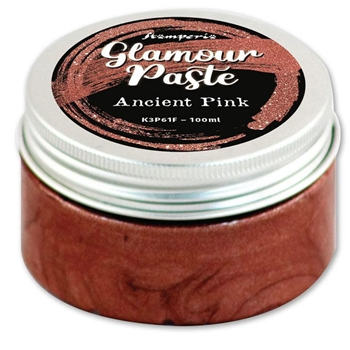 Stamperia ANCIENT PINK Glamour Paste k3p61f