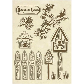Stamperia NESTS Wooden Shapes klsp067