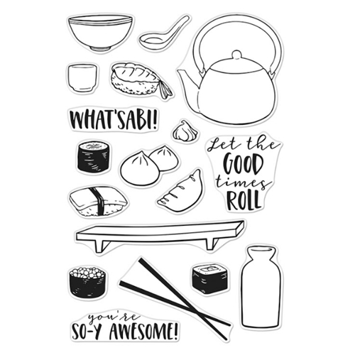 Hero Arts Clear Stamps SOY AWESOME CM445 Preview Image